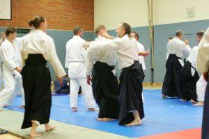 Aikido Lehrgang in Linz mit Günther Steger, 9./10.11.2012