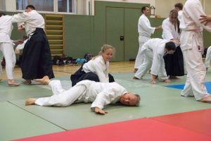 Aikidotraining in Kremsmünster April 2017
