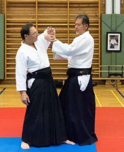 Aikidotraining in Kremsmünster / Kremstal mit Prof. Junichi Yoshida, April 2017 - Eingang